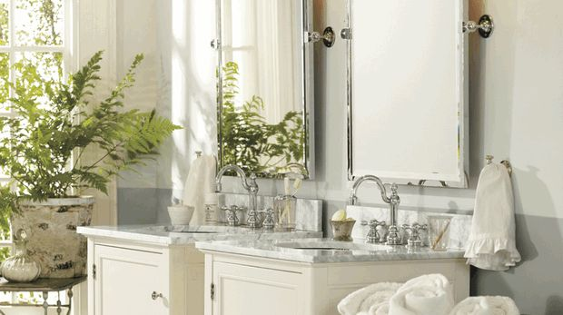 210 best pottery barn crate and barrel images on pinterest bedrooms homes and bedroom ideas for Pottery barn bathroom paint colors
