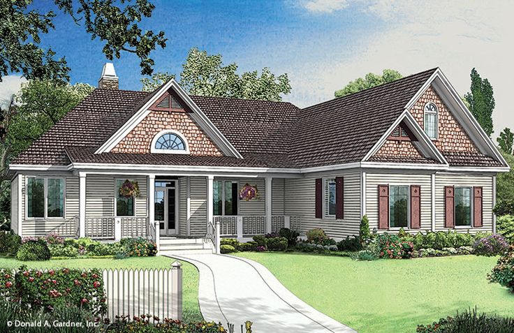 Plan of the week under 2500 sq ft the larkspur house for Cedar shake home plans