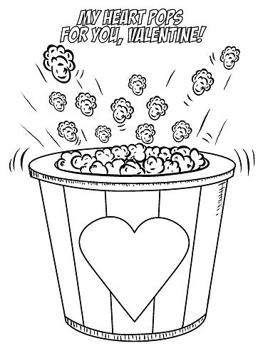 74 best Valentine\'s Coloring Pages images on Pinterest | Coloring ...