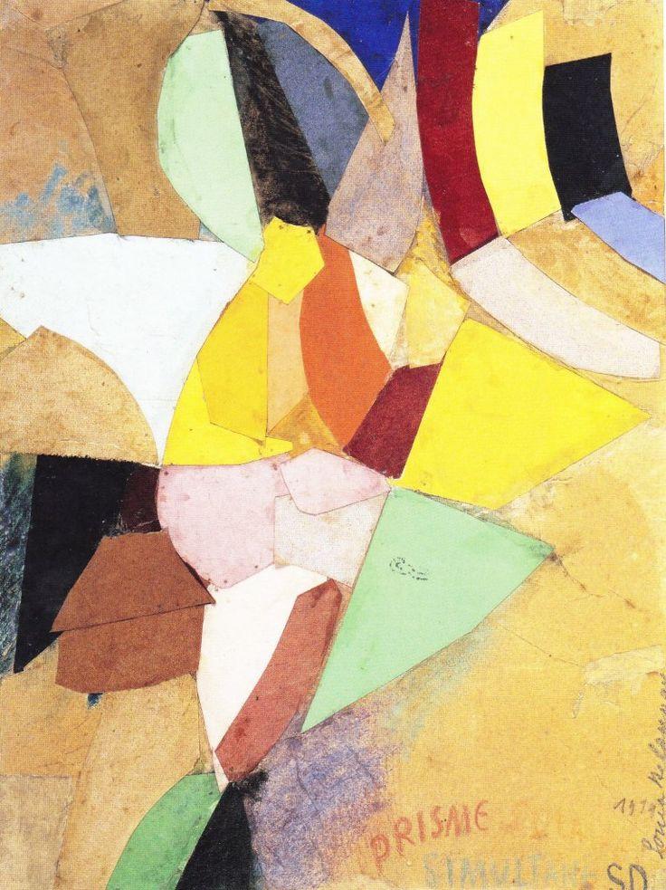 Simultaneous Solar Prism by Sonia Delaunay (1914)