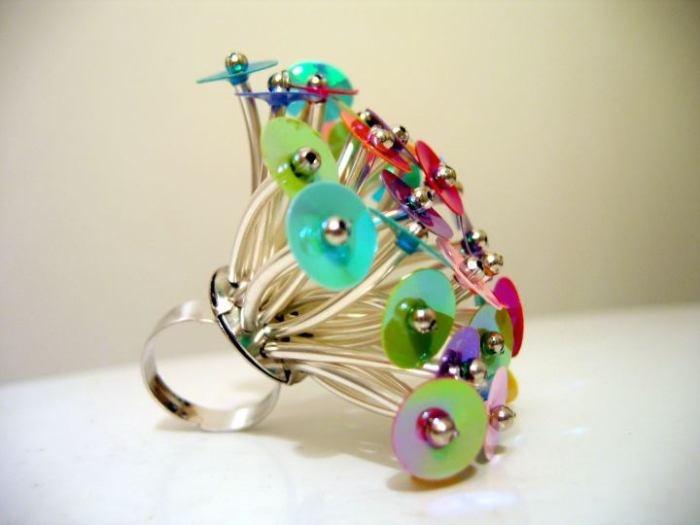 """ADHD Illusion"" ring  Faun Noir Jewellery  www.faunnoir.com"