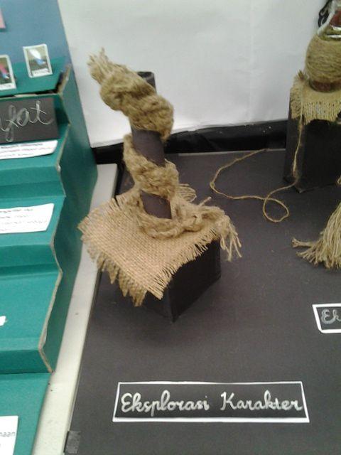 karakter fleksibel pada karung goni