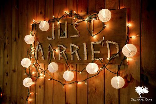 Birch Signs For Your Wedding - Rustic Wedding Chic