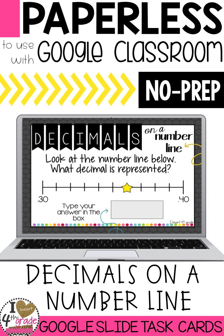 Decimals on a number line   decimals   teaching decimals   4th grade decimals   number lines   4th grade math centers   This interactive set of digital task cards is perfect for helping students place decimals on a number line. #decimals ($)
