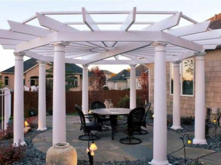 54 best Backyard Pergolas images on Pinterest Arbors Backyard