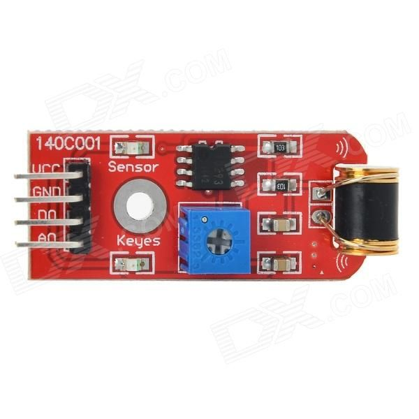 Keyes 801s Vibration Sensor Module Projects