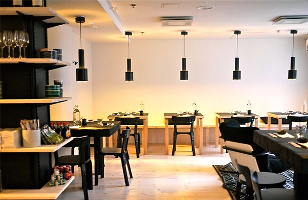 Sushibar + Wine: The best sushi in Helsinki and a well thought wine list.