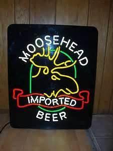 vintage neon beer signs