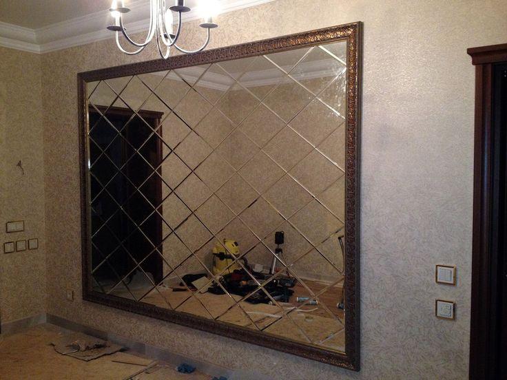 """Родиной зеркального панно можно назвать Францию. Именно здесь началась мода на этот вид декорирования. Дословно panneau переводиться, как """"панель, полотно, секция"""".  Применять панно можно как на стенах, так и на потолке. Благодаря современным технологиям, зеркала можно дополнительно обрабатывать, используя фотопечать, пескоструйный рисунок, роспись. Такое дизайнерское оформление позволяет выгодно сочетать преимущества отражающей поверхности с художественными эффектами. #СтеклоГрад55…"""