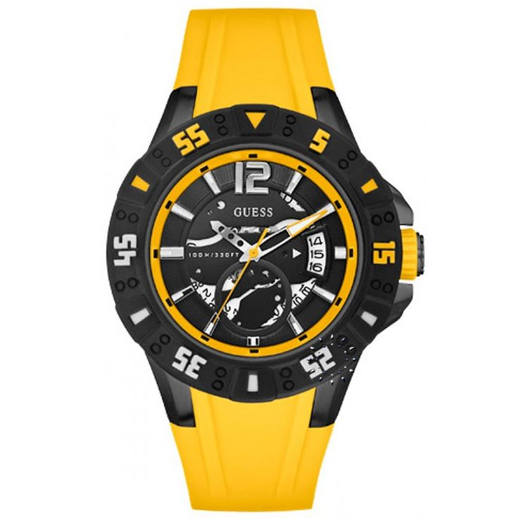 GUESS Date Yellow Rubber Strap Η τιμή μας: 139€ http://www.oroloi.gr/product_info.php?products_id=29261