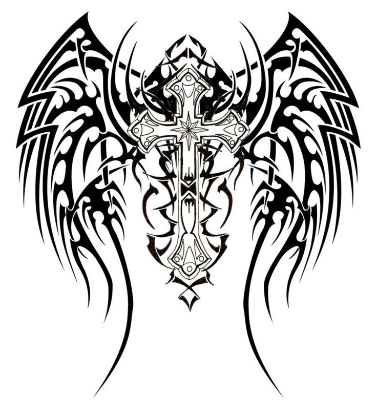 17 best ideas about tribal cross tattoos on pinterest for Tribal pattern coloring pages