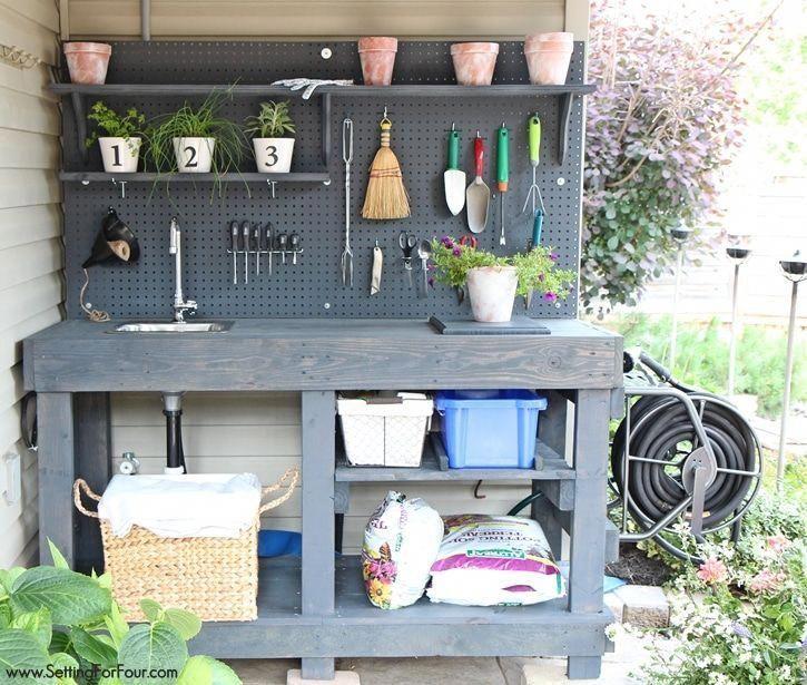 Die schönsten Gartenbank Simple Ideas 7040244449 #farmhousebenchdecor #gardenstoragebench