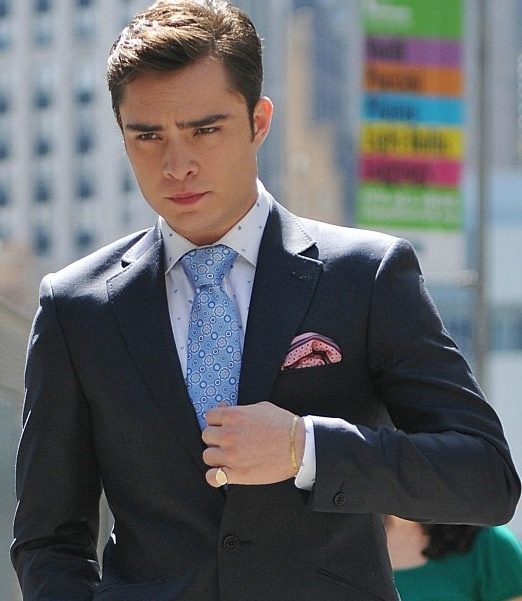 Ed westwick gives the most chuck bass answer when asked about rebooting gossip girl