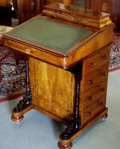 Restored Davenport Desk