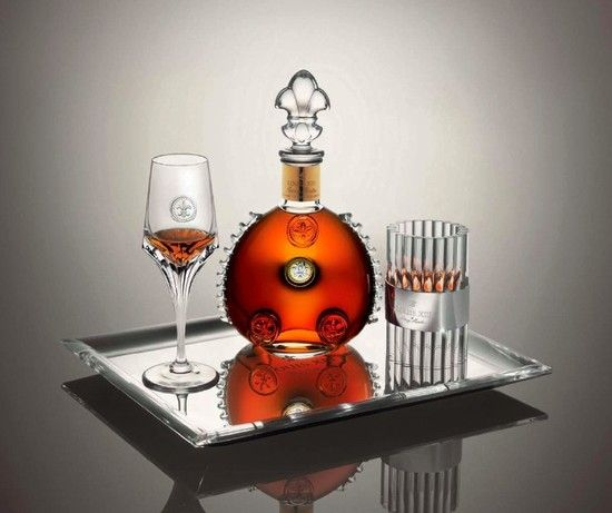Louis XIII Cognac and Christophe Pilet have collaborated on a limited edition collection of silver, crystal and glassware; designed to accompany the hand blow Baccarat crystal bottle of Cognac