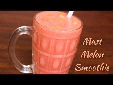 Mast Melon Smoothie|Watermelon & Muskmelon Smoothie|English/Hindi recipe...