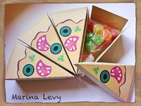 Caixinha Pizza - Tartarugas Ninja