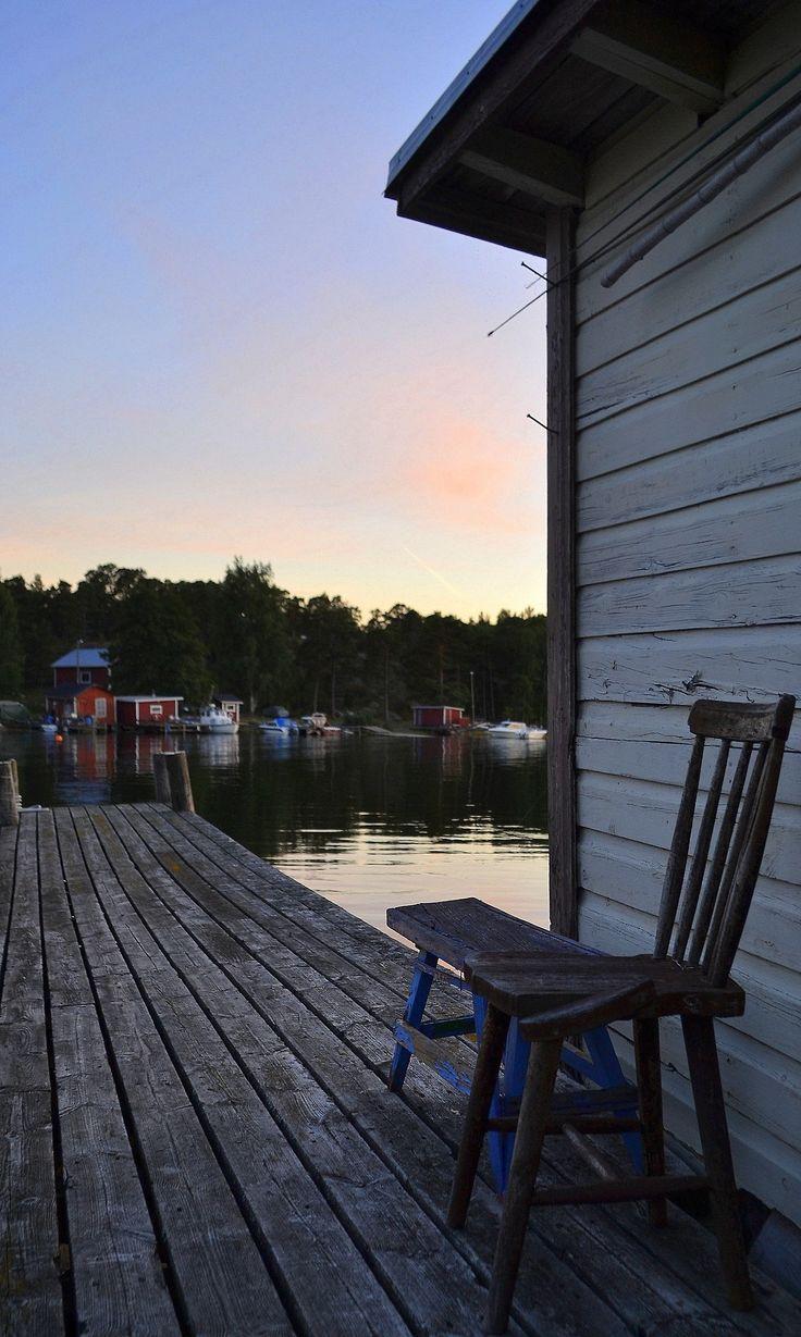 Evening at Kapellhamnen, Hanko Finland. Re-pinned by #Europass