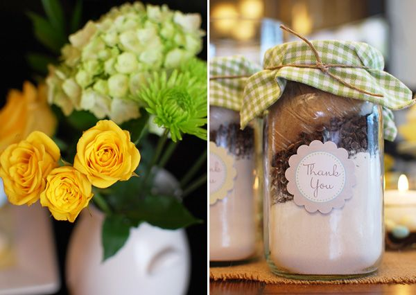 from Hostess with the Mostess blog, Love these favors!