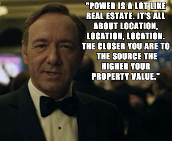 25 Great Quotes From House Of Cards Most Excellent Quotes Frank
