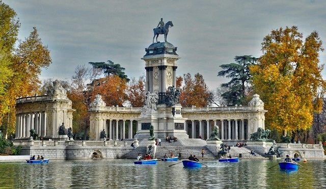 Parco Retiro Vedere 0956e214613ba2b2f154 Ciudad De Acuarela Parques Parque Del Retiro Madrid
