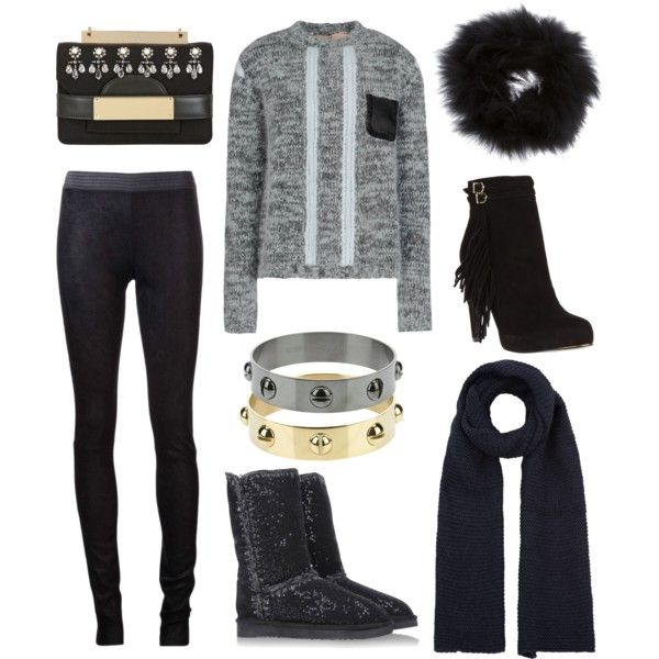 """Cozy and chic weekend"" by stockholmmarket on Polyvore"