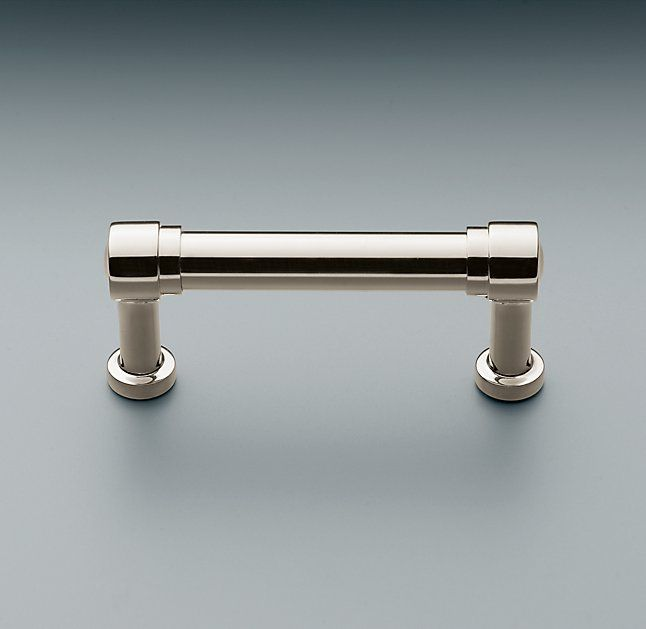 Unique Satin Nickel and Brass Cabinet Pulls