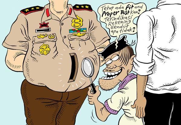 Mice Cartoon, Harian Rakyat Merdeka: Versi KPK