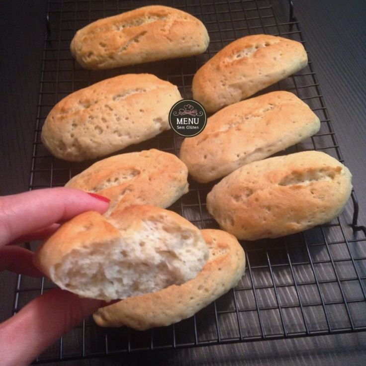 Pão Francês sem glúten e sem lactose