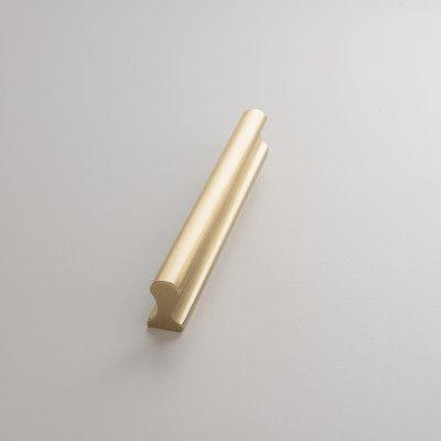 Midvale Pull - Natural Brass | Drawer Pulls | Hardware