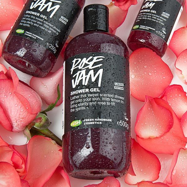 LUSH Rose Jam shower gel. I'm pretty sure this is what heaven smells like...