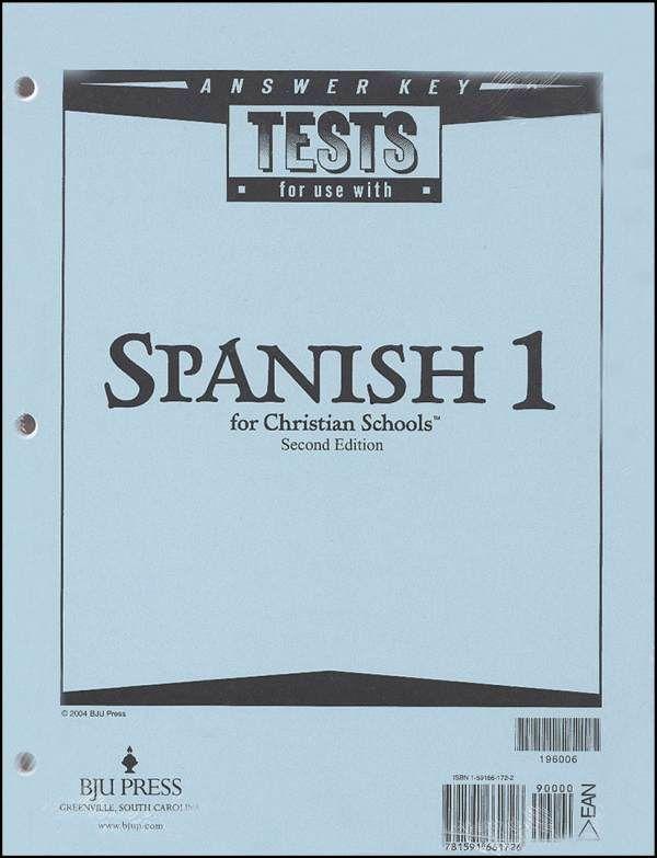 Spanish 1 Tests Answer KeyTest Answers, Schools Stuff, Answers Keys, Keys 196006, Spanish 1