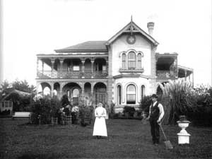 Scholey House, Mayfield - the suburb gets its name from May Scholey.