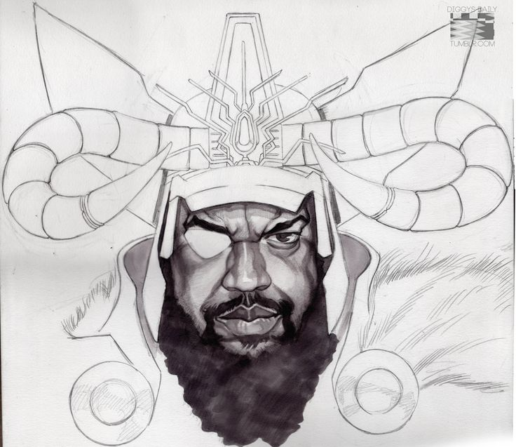 SEAN P IS ODIN!A preview of my tribute to the rap bar-barian Sean Price, still under construction.