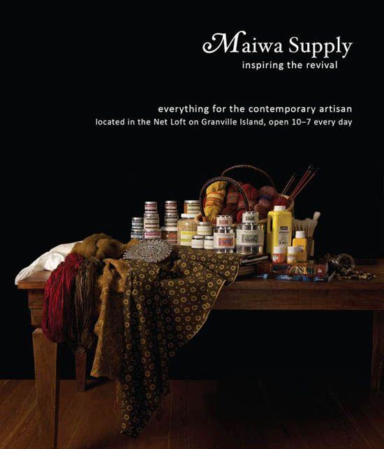 Maiwa Supply Hmm On Granville Island Supplies For