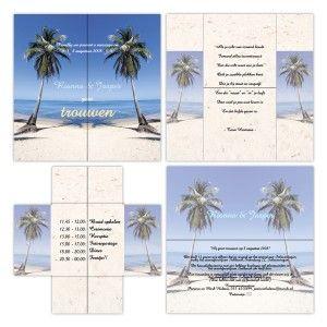 trouwen-kaart-vouwen-origineel-strand-vakantie