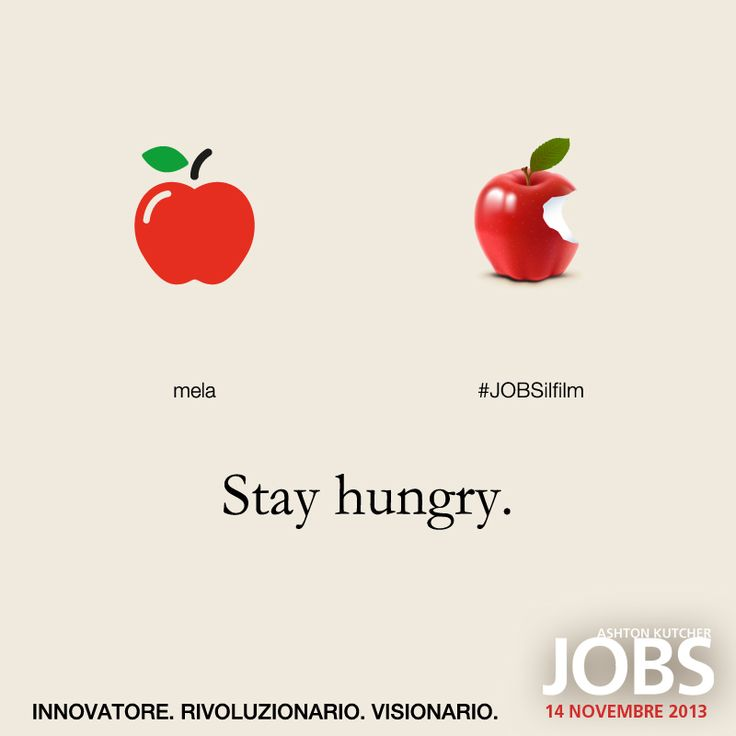 Il frutto della conoscenza. #JOBSilfilm  JOBS è AL #CINEMA.