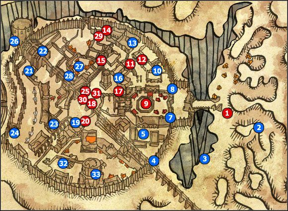 1 - M31 Loc Muinne - Maps - The Witcher 2: Assassins of Kings Game Guide