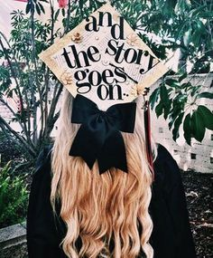 """In the spirit of """"last time, best time"""", let's get some grad cap inspo going, shall we? We're counting down our five fave graduation cap design categories."""
