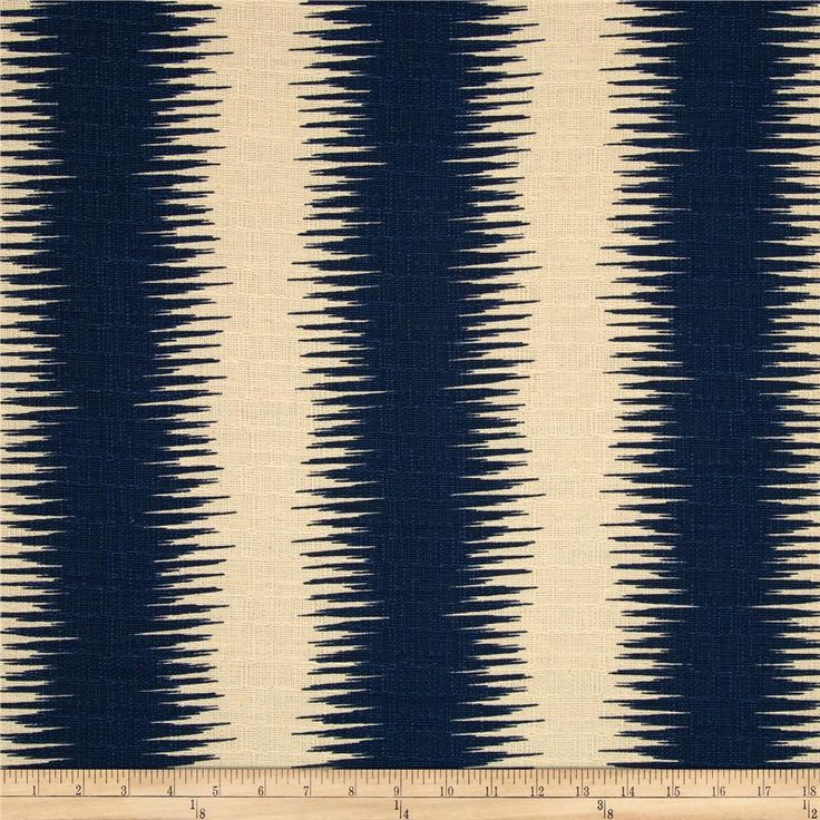 Premier Prints Jiri Stripe  Nina Navy/Birch