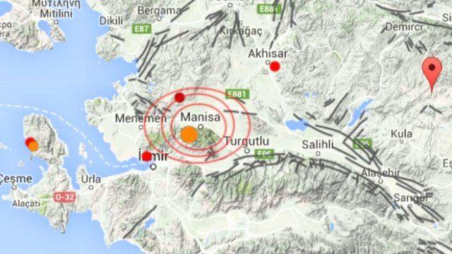 Землетрясение в Турции затронуло Измир