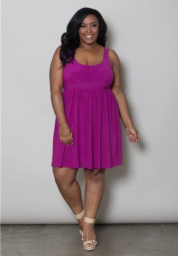 Essential Tank Dress $59.90 by SWAK Designs #swakdesigns #PlusSize #Curvy