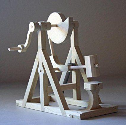 Cam Hammer di Leonardo Da Vinci it was set up on a water mill originally