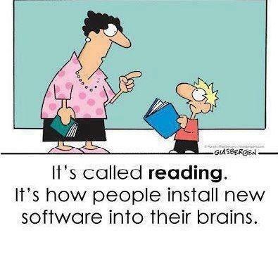 Funny! Reading teacher humor!
