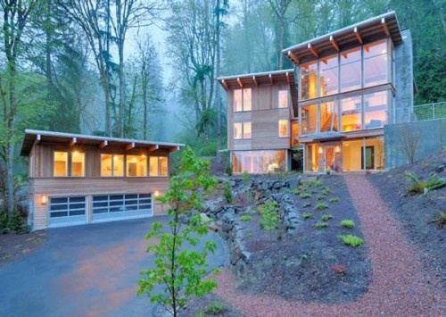 Delightful Cougar Mountain Residence By Johnston Architects In Seattle Washington Photo Gallery