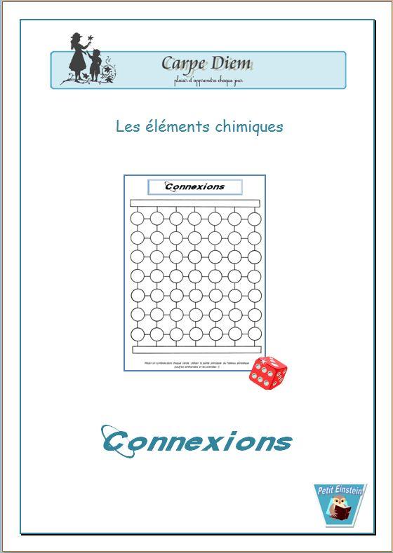 jeu bingo chimie