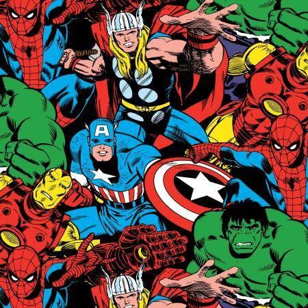 Funky Monkey Fabrics Inc. - Marvel Comic Pack - 1/2 yard, $5.00 (https://funkymonkeyfabrics.com/marvel-comic-pack-1-2-yard/)