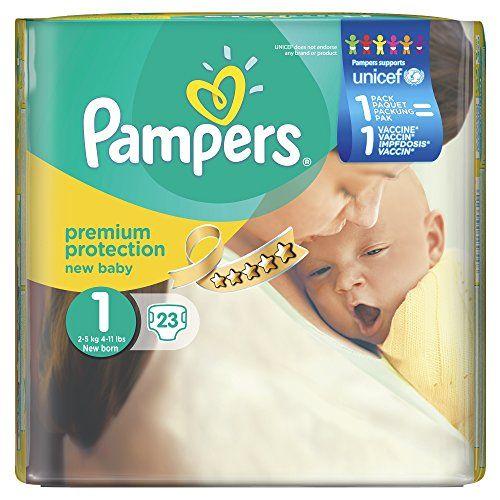 Pampers Windeln New Baby, Gr. 1 Newborn 2-5 kg Tragepack, 4er Pack (4 x 23 Stück) Pampers http://www.amazon.de/dp/B00HEH6AWE/ref=cm_sw_r_pi_dp_ESntwb05J4A47