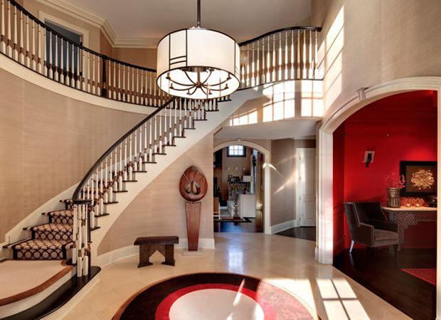 159 Best Images About Rooms In Red Black And White On