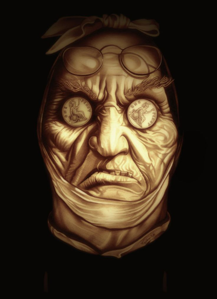 Jacob Marley by TheNightGallery.deviantart.com on @DeviantArt